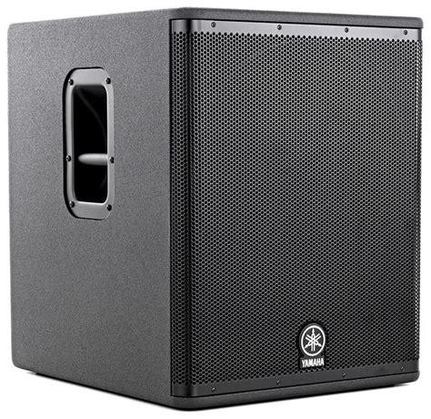 Speaker Yamaha Dsr 118 actieve sub speaker yamaha dsr 118