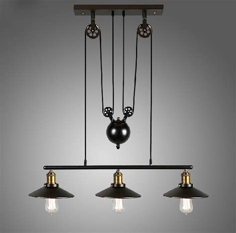 Inexpensive Pendant Lighting Get Cheap Pulley Pendant Light Aliexpress Alibaba