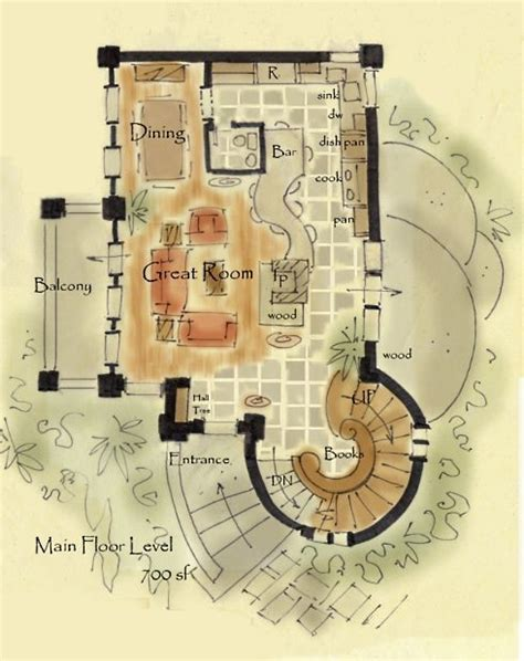 Storybook Cottage House Plans Floor Plans Pinterest Storybook Cottage House Plans
