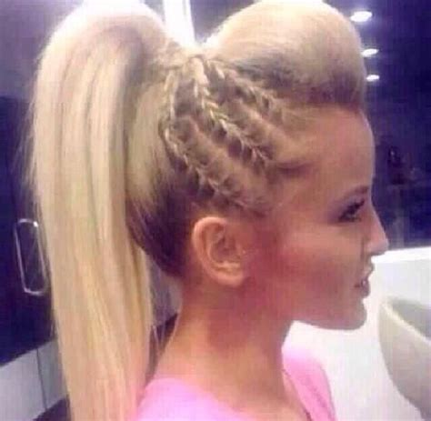 front poof long back hairstyle 1000 images about hair braids on pinterest poof braids
