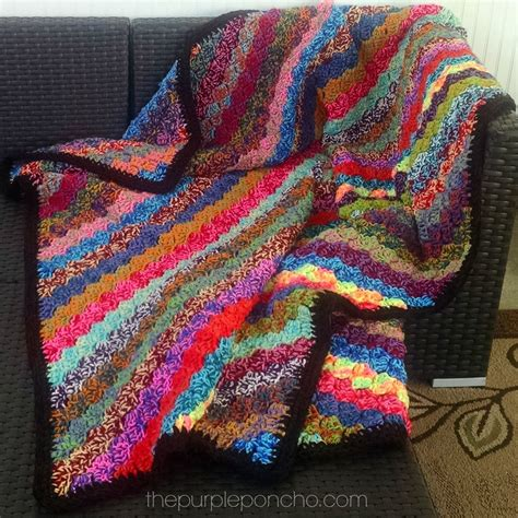 knitting patterns for scrap yarn crochet corner to corner scrap yarn blanket free pattern