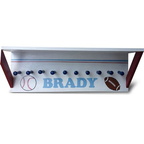 Sport Shelf by Sports Painted Wall Shelf Rosenberryrooms