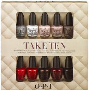 chalkboard nails news opi take ten and top this gift