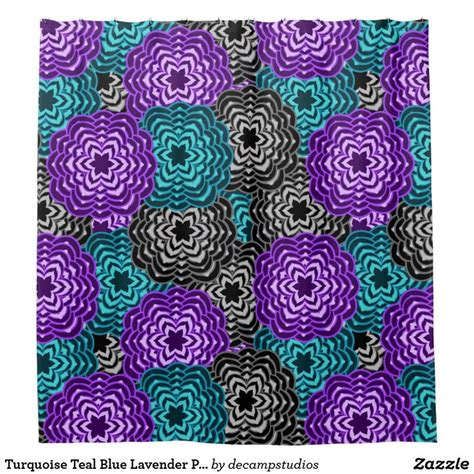 purple and turquoise shower curtain 17 best ideas about purple shower curtains on pinterest