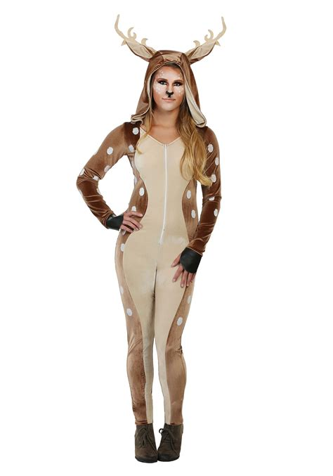halloween costumes women s fawn costume