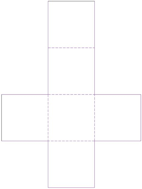 Templates In Net by Cube Net Template