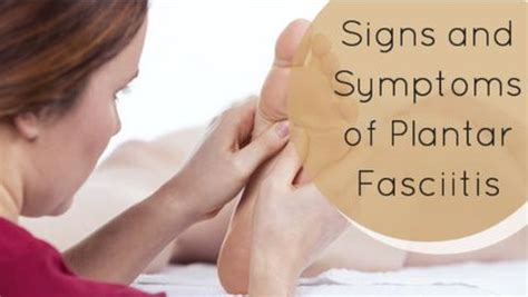 signs and symptoms of plantar fasciitis pro tect copper