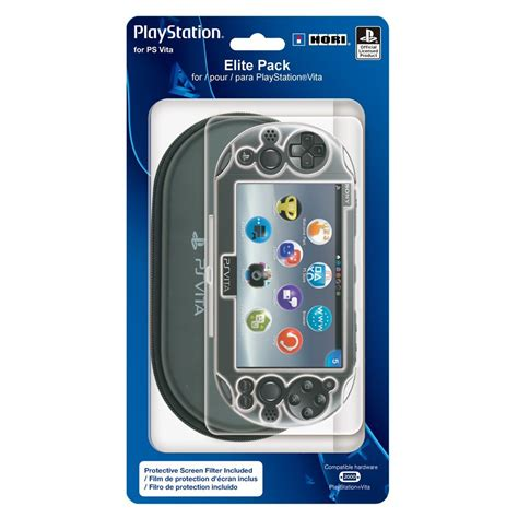 Sale Hori Ps Vita Screen Protector hori ps vita 2000 pouch and screen protector elite pack the gamesmen