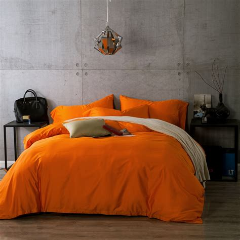 solid orange comforter promotion shop for promotional
