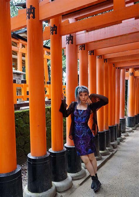 Hello Limited Kyoto Japan Orange kyoto fushimi shrine orange japanese temple gates hotel gracery sanjo kabuki