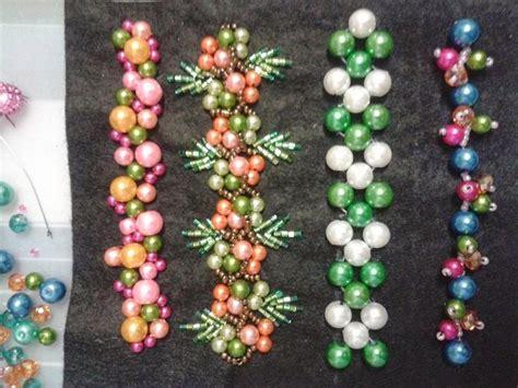 Bunga Sequin basic crumble jentayu bracelet basic patch lace ruffles 3d bunga 3d peyote
