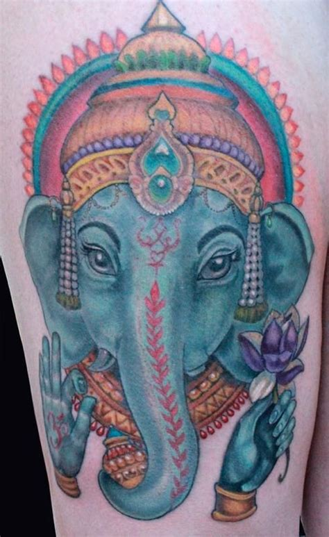 blue ganesha tattoo 29 best images about ganesh tattoos on pinterest tattoo