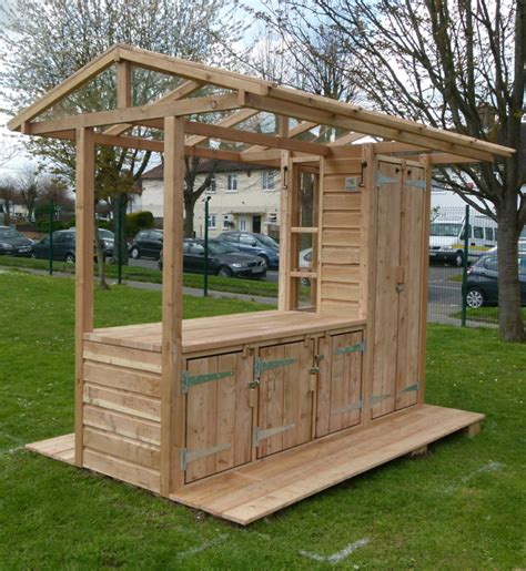 Potting Shed by The Potting Shed Green Play Project