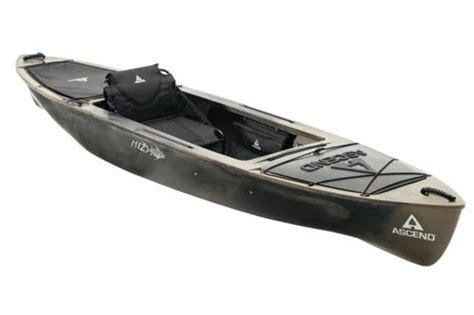 bass pro vaughan boat seats ascend h12 sitin hybrid kayak whiteblack bass pro shops