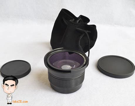 Lensa Converter Fisheye Canon lensa converter fisheye dan macro nikon 0 42x
