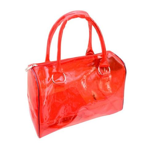 s jelly clear transparent bag pvc 2in1 fashion handbags purses bag ebay
