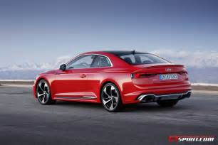 Audi Rs 4 Official 2018 Audi Rs5 Gtspirit
