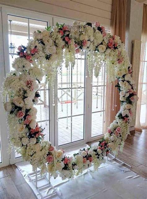 decor   metal arch weddingarch