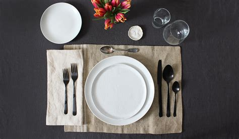 how to properly set a table how to set the table from apartment therapy s maxwell