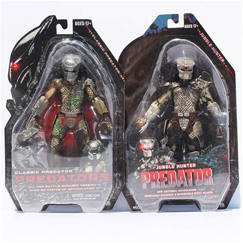 Figure Predator Isi 7 Pcs retail 1pcs neca 25th anniversary classic predator figure