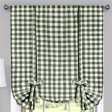 blue buffalo check curtains brissac tailored curtain panels buffalo curtains and