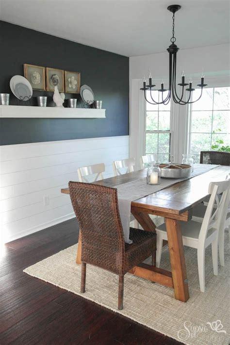 hometalk farmhouse table  dining room makeover