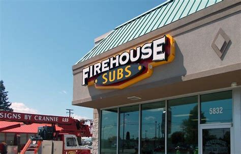 Firehouse Subs Corporate Office by Firehouse Subs Led Channel Letters Signs By Crannie