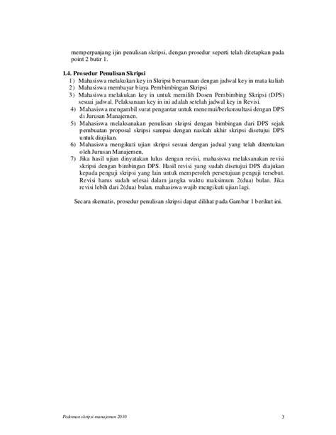 format proposal skripsi manajemen format penulisan skripsi uii penulisan skripsi s1