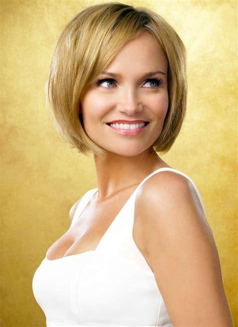 kristin chenoweth short hairstyle with hairstyles hair smooth short bob hairstyle with side swept bangs kristin