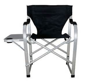 Heavy duty camping outdoor folding director chair big boy w table