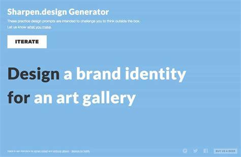 challenge generator sharpen design random graphic design challenge generator