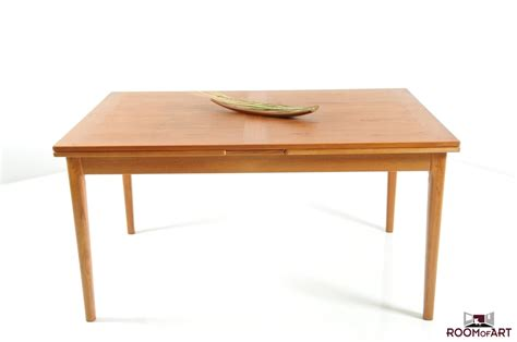 teak dining room tables hq danish dining table in teak by dyrlund room of art