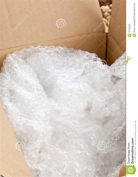 Buble Wrap Plastik wrap packaging stock photo image of protection 40159320