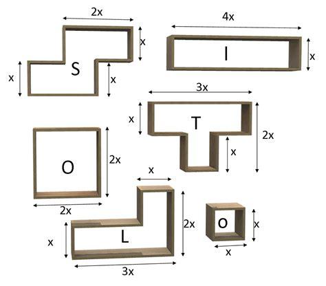 scaffale su misura scaffale tetris in betulla