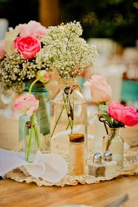 Vintage Country Style Wedding Rustic Wedding Chic Love Rustic Vintage Wedding Centerpieces