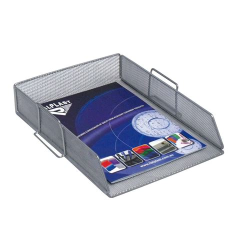 Mesh Desk Accessories Italplast Mesh Document Tray A4 Cos Complete Office
