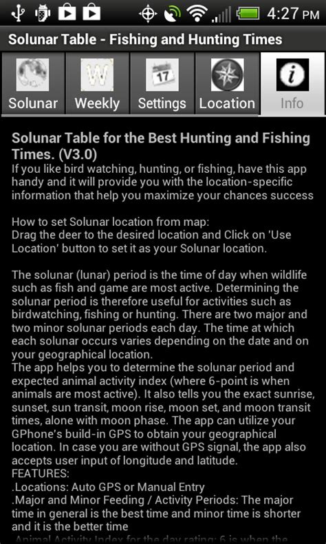 Fishing Time Table by Solunar Table Fishing Times Co Uk