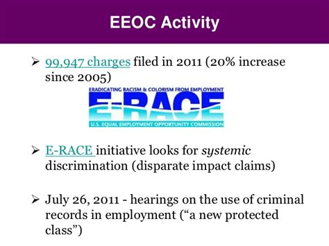 Eeoc Arrest Records Ppt Glance The Eeoc S New Guidance On Using Criminal Records