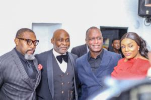 Chris Ayo Otiko Mba by Richard Mofe Damijo Host High Profile And In An