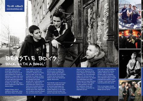 tutorial in design magazine indesign magazine double page spread tutorial 1209