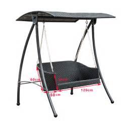 rattan swing garden rattan furniture swing chair swinging hammock