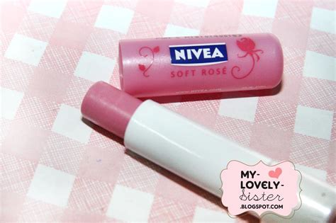 Scrub Bibir Nivea my lovely a with review nivea soft