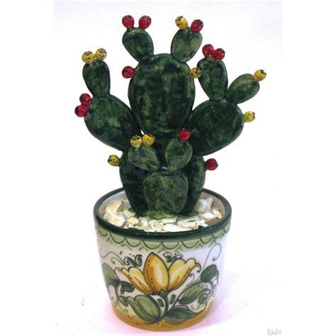 fico d india in vaso vaso fico d india grande ceramiche artistiche iride