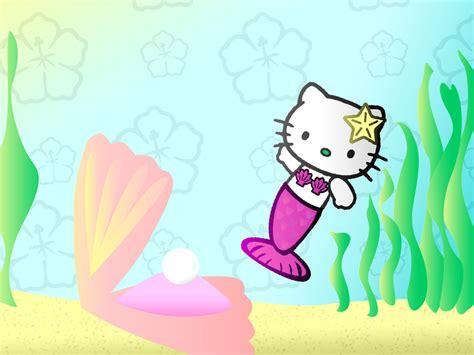 hello kitty mermaid wallpaper hello kitty mermaid by kkplum on deviantart