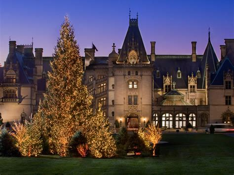 take a holiday home tour of biltmore house holiday
