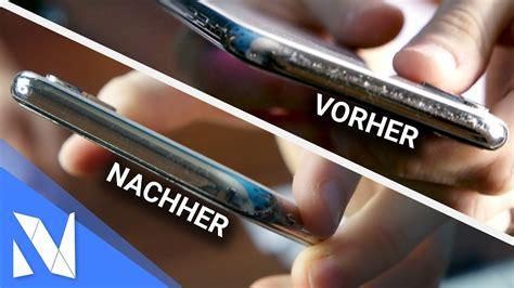 Iphone X Rahmen Kratzer Polieren by Kratzer Aus Dem Iphone X Rahmen Entfernen Geht Das