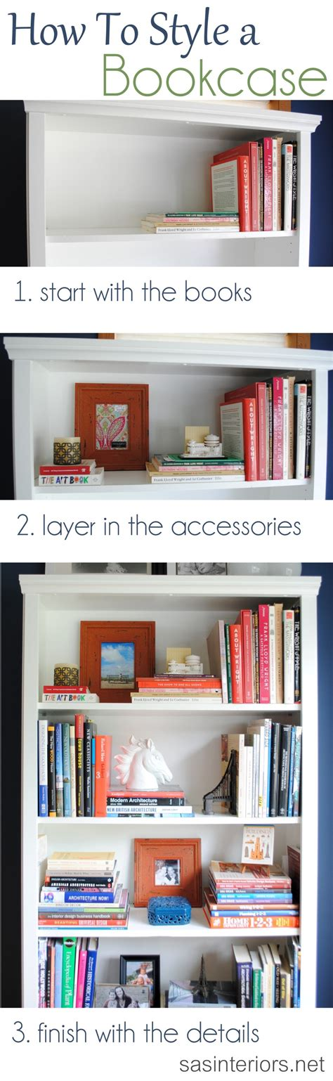 how to decorate a bookcase styling a bookcase jenna burger