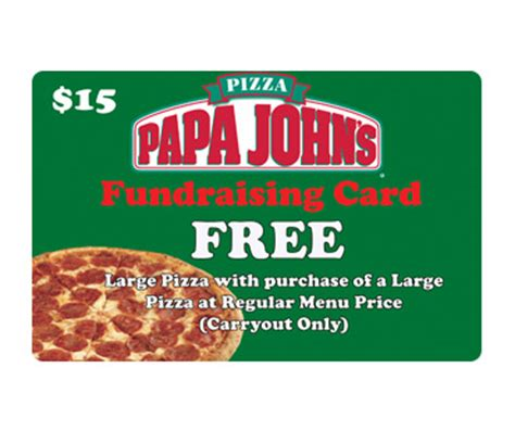 Free Papa John S Gift Card - unlimited use papa johns pizza cards