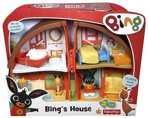 Kid Play Rug Bing Bunny Bing House Playset
