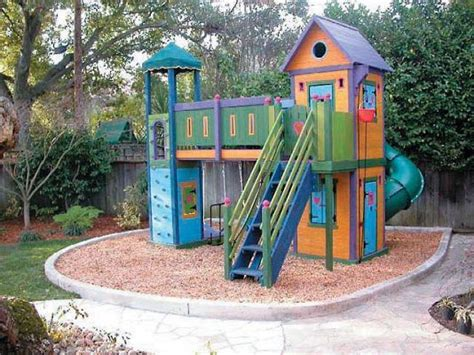 backyard playhouse plans diy elevated outdoor playhouse plans built in